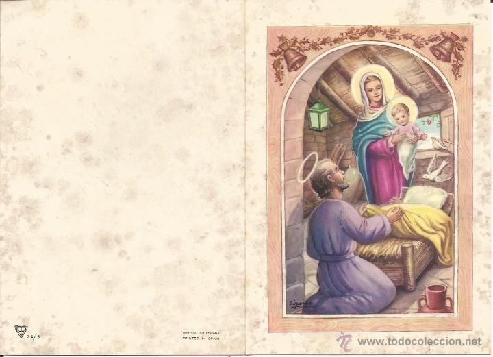 postal felicitacion de navidad - navideña - nac - Comprar Postales ...