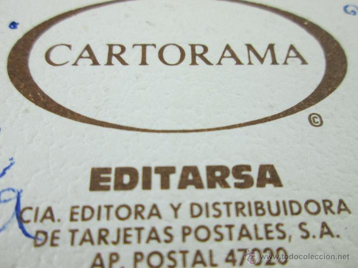 Postales: Aª TARJETA-CIRCULADA-ESCRITA-DOBLE HOJA-VER FOTOS. - Foto 2 - 46642024