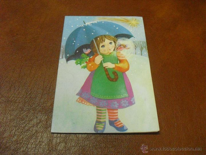POSTAL DIPTICO NAVIDAD (Postales - Postales Temáticas - Navidad)