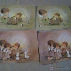 Postales: LOTE 4 POSTALES NAVIDEÑAS APROX 70 (2 MODELOS). Lote 108022151