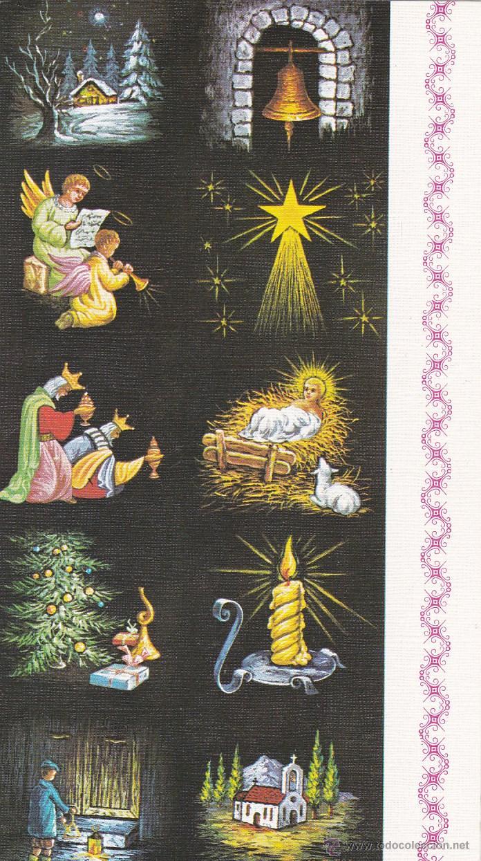 Postal doble navidad artis muti 1972 alego comprar - Postal navidad original ...