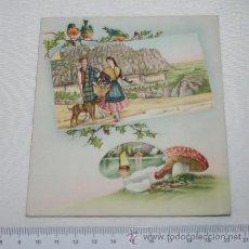 Postales: BONITA TARJETA ANTIGUA CON FELICITACION NAVIDEÑA, S.U., 1952. Lote 47258480