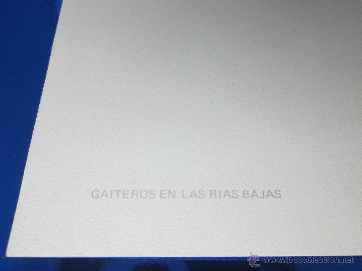 Postales: POSTAL-DEL BANCO HISPANO AMERICANO-FELICITACIÓN NAVIDAD 1973-QUESADA-GAITEROS EN LAS RIAS BAJAS-anti - Foto 3 - 117329900