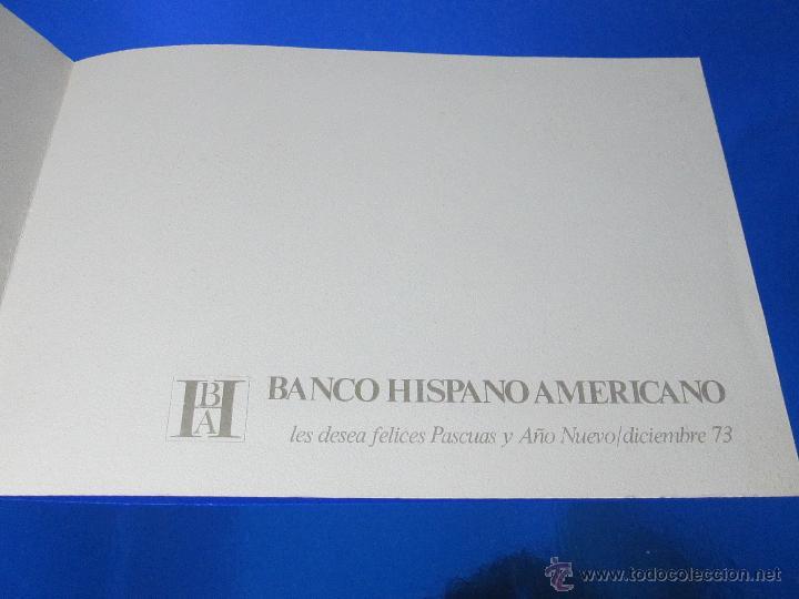 Postales: POSTAL-DEL BANCO HISPANO AMERICANO-FELICITACIÓN NAVIDAD 1973-QUESADA-GAITEROS EN LAS RIAS BAJAS-anti - Foto 4 - 117329900