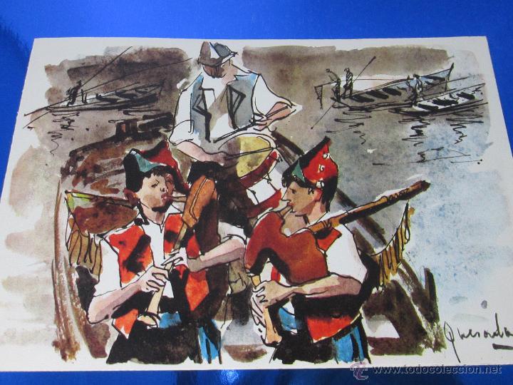 Postales: POSTAL-DEL BANCO HISPANO AMERICANO-FELICITACIÓN NAVIDAD 1973-QUESADA-GAITEROS EN LAS RIAS BAJAS-anti - Foto 6 - 117329900