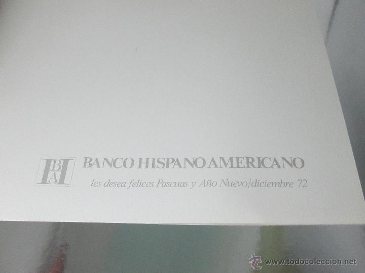 Postales: POSTAL-DEL BANCO HISPANO AMERICANO-FELICITACIÓN NAVIDAD 1972-QUESADA-SANTIAGO DE C.-antigua-VER F - Foto 3 - 117329890