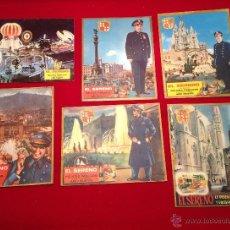 Postales: LOTE DE FELICITACION DE NAVIDAD EL SERENO . Lote 48191405
