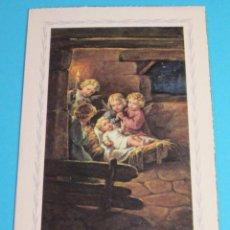 Postales: POSTAL NAVIDAD 1956. FORMATO 11 X 16,5 CM. Lote 48345673