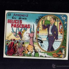 Postales: FELICITACIÓN DE NAVIDA. EL APRENDIZ. Lote 48810656
