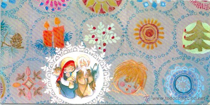 0787U- SALMONS, ROSER PUIG ??- EDICIONES SABADELL SERIE NURIA 324.2 - 11,5X6 CM (Postales - Postales Temáticas - Navidad)