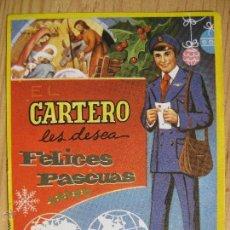 Postales: EL CARTERO LES DESEA FELICES PASCUAS. Lote 49041268
