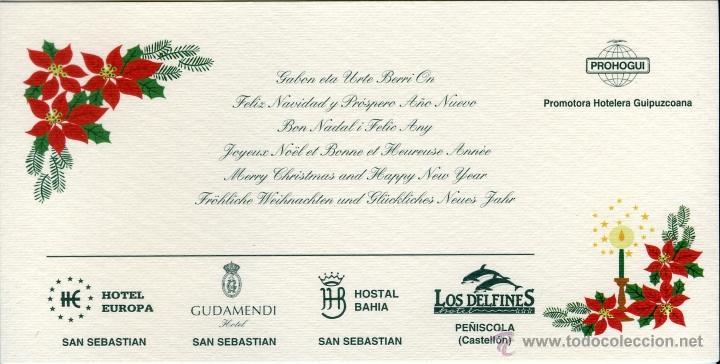 Navidad tarjeta postal felicitacion navide a comprar - Tarjetas felicitacion navidad ...