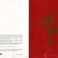 Postales: NAVIDAD, TARJETA POSTAL FELICITACION NAVIDEÑA SPRING HOTELES, TENERIFE - UNICEF. Lote 50061568