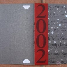 Postales: NAVIDAD, TARJETA POSTAL FELICITACION NAVIDEÑA HOTEL, BARCELO HOTELS & RESORTS 2001. Lote 50069657