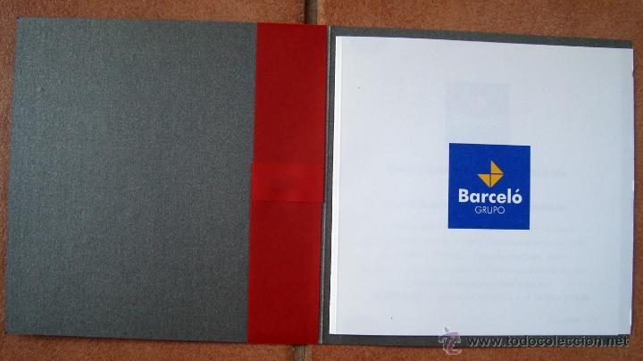 Postales: Navidad, tarjeta postal felicitacion navideña hotel, barcelo hotels & resorts 2001 - Foto 2 - 50069657