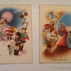 Postales: POSTAL NAVIDEÑA AÑOS 50 - 15 X10. Lote 50783531