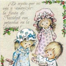 Postales: 0985G - EDICIONES ORTIZ MADRID- SERIE X116- DIPTICA 13X8,5 CM - ILUSTRA MARIA. Lote 51048747