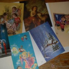 Postales: 6 POSTALES NAVIDEÑAS, CIRO, JBR, PERLA, IRIS, VASCONIA,..... Lote 51655144