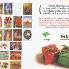Postales: LOTE DE 24 POSTALES DE PINTORES MALAGUEÑOS. NAVIDAD 2009. DIARIO SUR Y UNICAJA. MÁLAGA. PRECINTADA.. Lote 51817158