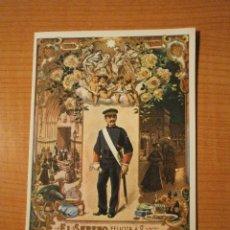Postales: FELICITACIONEL SERENO FELICES PASCUAS. Lote 52421198