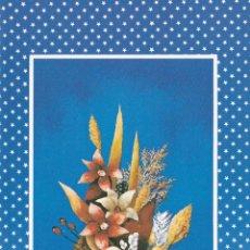 Postales: POSTAL NAVIDAD - FELICITACION NAVIDEÑA DOBLE - PINTADO CON LA BOCA - ED ARTIS MUTI - NUEVA SIN USAR . Lote 52507352