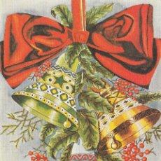 Postales: POSTAL NAVIDAD - FELICITACION NAVIDEÑA DOBLE - PINTADO CON EL PIE - ED ARTIS MUTI - NUEVA SIN USAR . Lote 52507670