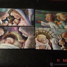 Postales: 4 POSTALES NAVIDEÑAS DE BENTGES. . Lote 52614628