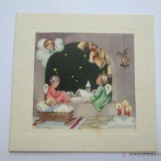 Postales: TARJETA NAVIDAD. CARTE DE NOËL. CHRISTMAS CARD. 1958. Lote 53233770