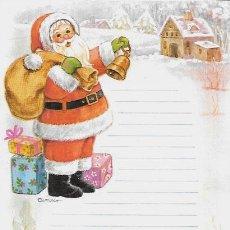 Postales: CARTA A SANTA CLAUS ( PAPÁ NOËL ) CONTIJOCH - AÑO 1983. Lote 89357512