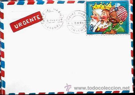Imagenes Sobre Reyes Magos.Sobre Para Carta A Los Reyes Magos Anos 80 Vendido En