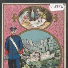 Postales: EL SERENO - FELICITACION ANTIGUA - MONTSERRAT - (V-3842). Lote 53614244