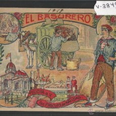 Postales: EL BASURERO - FELICITACION ANTIGUA - (V-3849). Lote 53614300