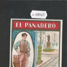 Postales: EL PANADERO - FELICITACION ANTIGUA - (V-3865). Lote 53614515