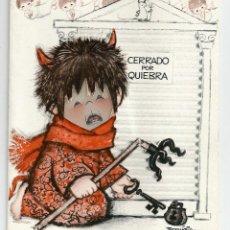 Postales: FELICITACION FERRANDIZ *CERRADO POR QUIEBRA* CON CARA MÓVIL - 17X14,5 CM - ORIGINAL 1966. Lote 54041613