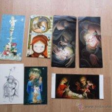 Postales: LOTE DE 7 POSTALES DE NAVIDAD - JUAN FERRANDIZ - AÑOS 60 Y 70. Lote 54721117