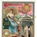 Postales: PS6195 GREMIOS. FELICITACIÓN NAVIDEÑA DEL ESPITERO DE LA CATALANA DEL GAS. BARCELONA. PRINC. S. XX. Lote 52997239