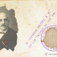Postales: PS4902 GREMIOS - FELICITACIÓN NAVIDEÑA DEL CONSERJE - FOTOGRÁFICA - BARCELONA - 1910. Lote 45794942