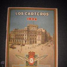 Postales: LOS CARTEROS -FELICITACION NAVIDAD - LIBRITO AÑO 1934 - -VER REVERSO - (V-4777). Lote 55082807