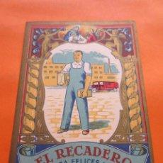 Postales: FELICITACION EL RECADERO - MATARO - . Lote 56974678