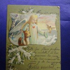 Postales: ANTIGUA POSTAL NAVIDEÑA. CIRCULADA. AÑO 1906. Lote 57056782
