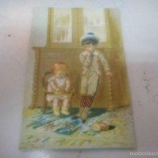 Postales: ANTIGUA POSTAL O TARGETA FELICITACION NAVIDAD PASCUAS. Lote 57969209