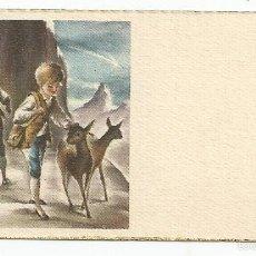 Postales: TARJETA NAVIDAD *GRASSA* - REF. 406 - 8,2 X 4,2 CM. Lote 58073107