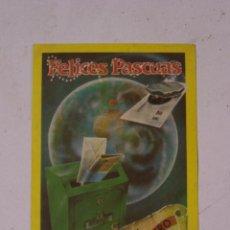 Postales: FELICES PASCUAS. EL CARTERO. Lote 58320052