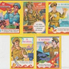 Postales: LOTE 9 FELICITACIONES DE NAVIDAD, EL BARRENDERO AÑOS 70, MIRAR FOTO ADICIONAL. Lote 58563995