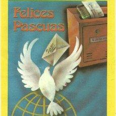 Postales: EL CARTERO. FELICES PASCUAS.. Lote 58691086