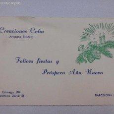 Postales: BONITA POSTAL. DE NAVIDAD. CREACIONES CELIA. Lote 59574663