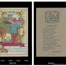 Postales: EL BASURERO LES DESEA FELICES PASCUAS DE NAVIDAD. 1920'S ?.. Lote 59630631