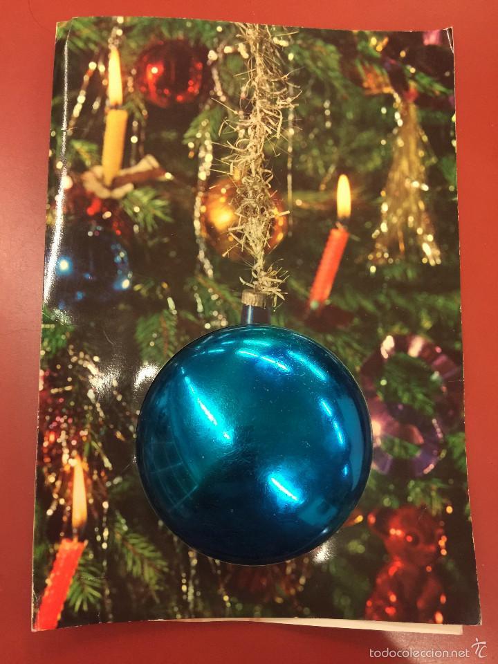 Antigua postal de navidad gran tama o laborato comprar - Postal navidad original ...