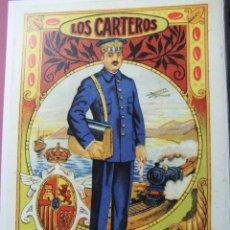 Postales: TARJETA CARTERO FELICITACION DE NAVIDAD DEL SINDICATO DE CORREOS VALLADOLID CGT LOS CARTEROS ACTUAL. Lote 62017468