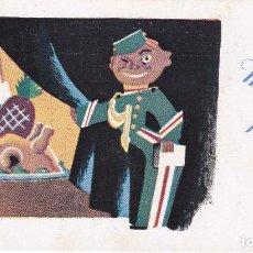 Postales: POSTAL DE FELICITACION DE EL BOTONES MOLTES FELICITATS EN CATALAN (NAVIDAD-CHRISTMAS) . Lote 62249024